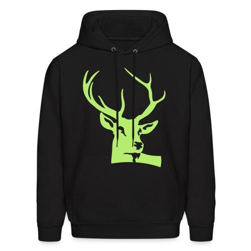Deer Jacket_1 - Men's Hoodie
