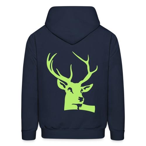 Deer_Hooddie_2 - Men's Hoodie