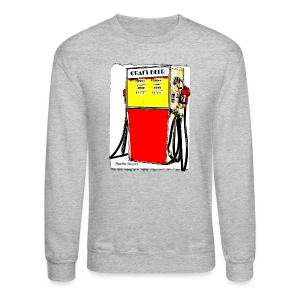 Craft Beer Gas Pump Men's Crewneck Sweatshirt - Crewneck Sweatshirt