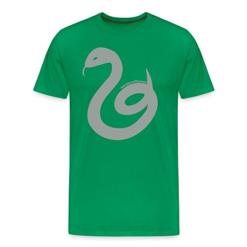 Men's Slytherin Tee - Men's Premium T-Shirt