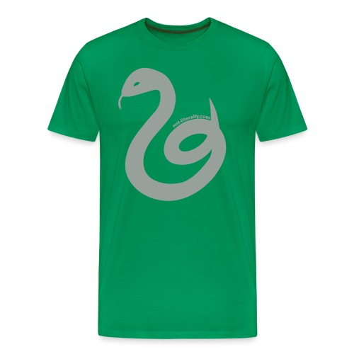 Men's Slytherin Tee - Men's Premium T-Shirt