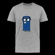 T-Shirts ~ Men's Premium T-Shirt ~ Men's Through Time Glasses Tee