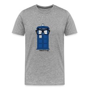 Men's Through Time Glasses Tee - Men's Premium T-Shirt