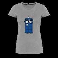 T-Shirts ~ Women's Premium T-Shirt ~ Women's Through Time Glasses Tee