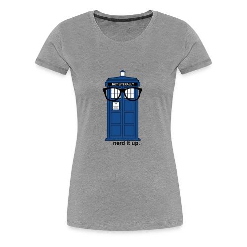 Women's Through Time Glasses Tee - Women's Premium T-Shirt