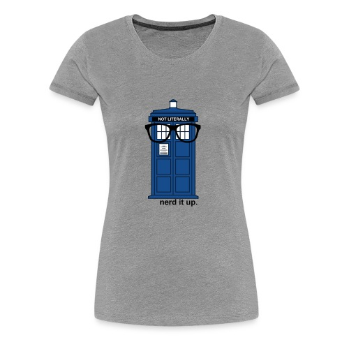 Women's Through Time Glasses Tee - Women's Premium T-Shirt