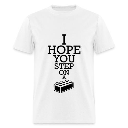 Step on Lego (Men) - Men's T-Shirt