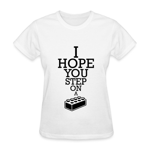 Step on Lego (Women) - Women's T-Shirt