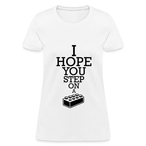Step on Lego (Women) - Women's T-Shirt