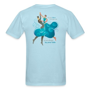 Men's Standard Weight T-Shirt - Two Dancers - Men's T-Shirt