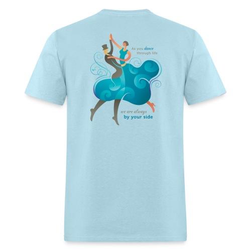 Men's Standard Weight T-Shirt - Two Dancers - Men's T-Shirt