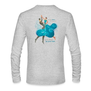 Men's Long Sleeve T-Shirt - Two Dancers - Men's Long Sleeve T-Shirt by Next Level