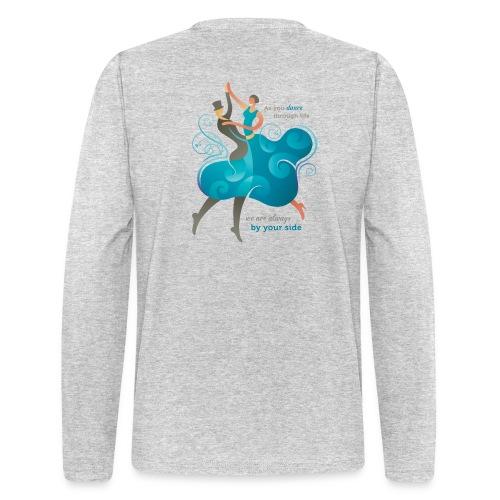 Men's Long Sleeve T-Shirt - Two Dancers - Men's Long Sleeve T-Shirt by Next Level