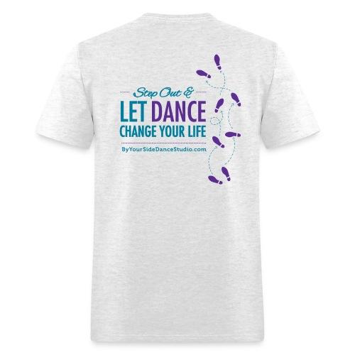Men's Standard Weight T-Shirt - Let Dance Change Your Life - Men's T-Shirt