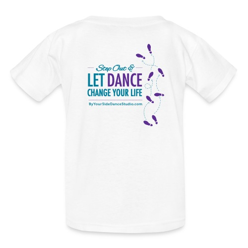 Kids Tshirt - Let Dance Change Your Life - Kids' T-Shirt