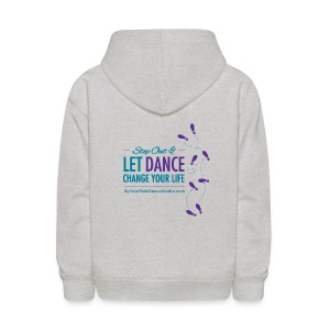 Kids Sweatshirt - Let Dance Change Your Life - Kids' Hoodie