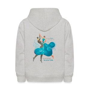Kids Sweatshirt - Two Dancers - Kids' Hoodie