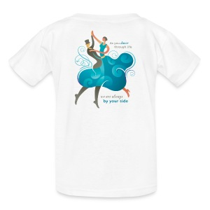 Kids Tshirt - Two Dancers - Kids' T-Shirt
