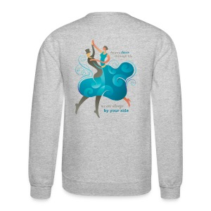 Men's Crewneck Sweatshirt - Two Dancers - Crewneck Sweatshirt