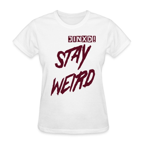 Jinxd Weirdos are cooler - Women's T-Shirt