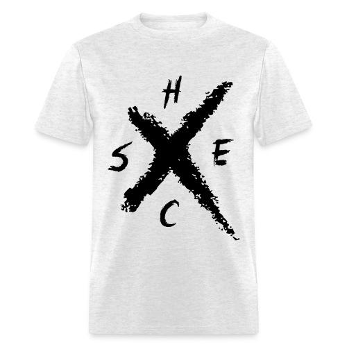 SXE HC BLK - Std - Men's T-Shirt