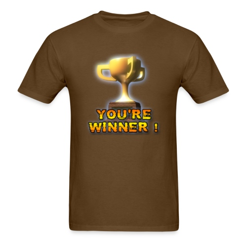 YOU'RE WINNER ! (Men) - Men's T-Shirt