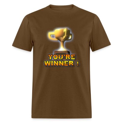 YOU'RE WINNER ! (Men) - Men's T-Shirt