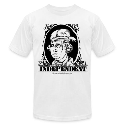 George Washington - INDEPENDENT - Men's T-Shirt by American Apparel