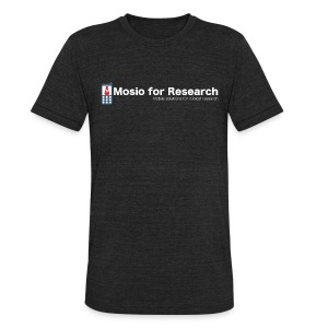 Mosio for Research - T Shirt - Unisex Tri-Blend T-Shirt by American Apparel