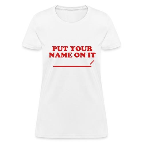 Black Queen Tee - Women's T-Shirt