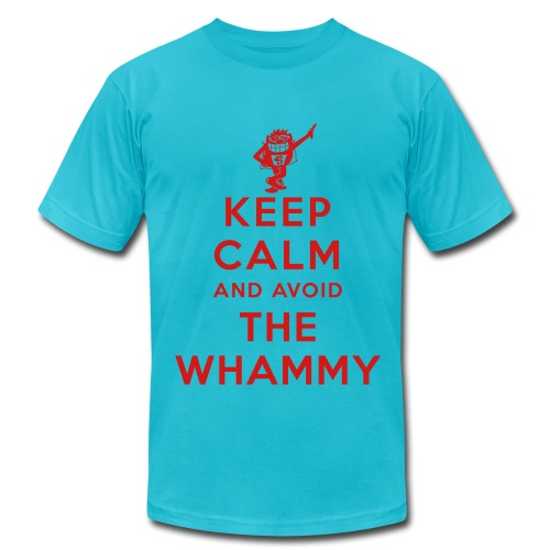 Keep Calm and Avoid the Whammy - Men's Fine Jersey T-Shirt