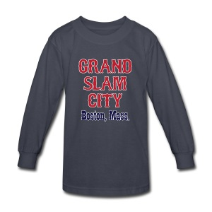 Grand Slam City - Kids' Long Sleeve T-Shirt