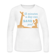 Long Sleeve Shirts ~ Women's Long Sleeve Jersey T-Shirt ~ Save You