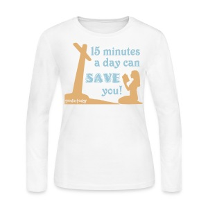 Save You - Women's Long Sleeve Jersey T-Shirt