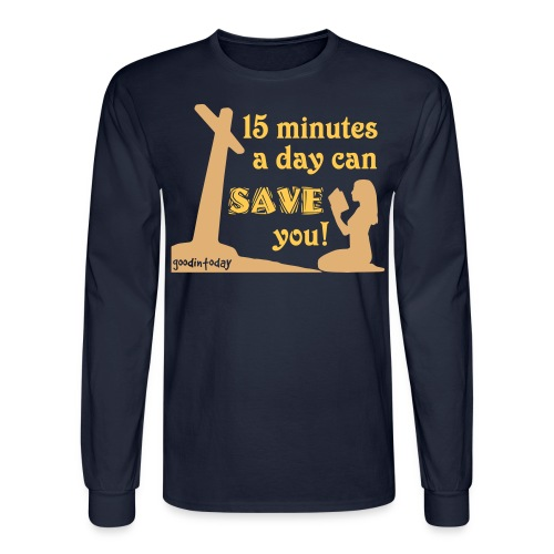 Save You - Men's Long Sleeve T-Shirt