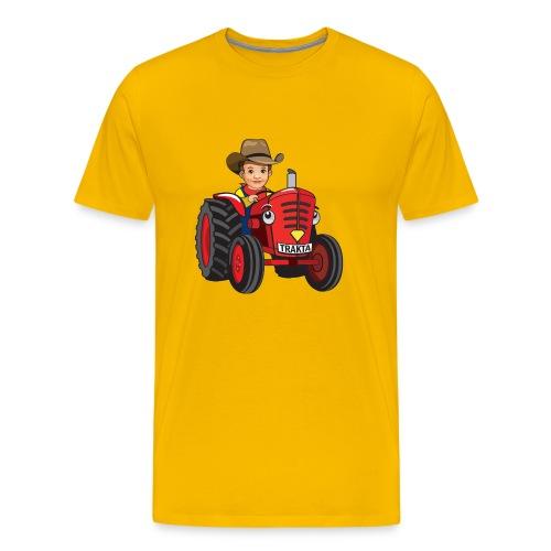 Trakta men's Shirt - Men's Premium T-Shirt