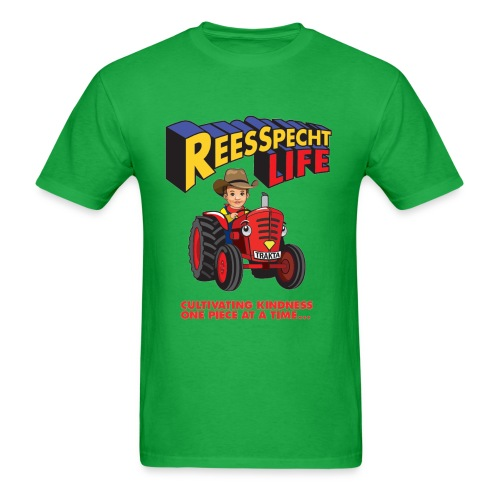 Trakta, Logo & Slogan Men's Shirt - Men's T-Shirt