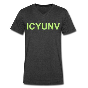ICYUNV - Men's V-Neck T-Shirt by Canvas