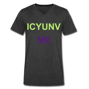 ICYUNV Me - Men's V-Neck T-Shirt by Canvas