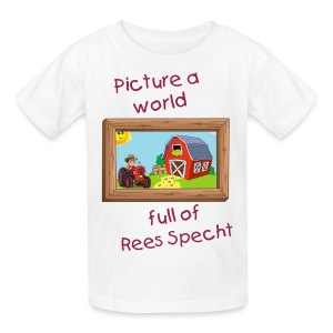 Picture a world Kids 2 - Kids' T-Shirt