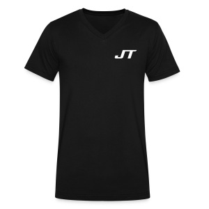 5 Star Finale JT  - Men's V-Neck T-Shirt by Canvas