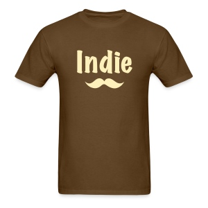 Indie Stache (Men's) - Men's T-Shirt