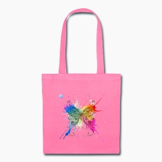 Colorful Butterfly Bags & backpacks