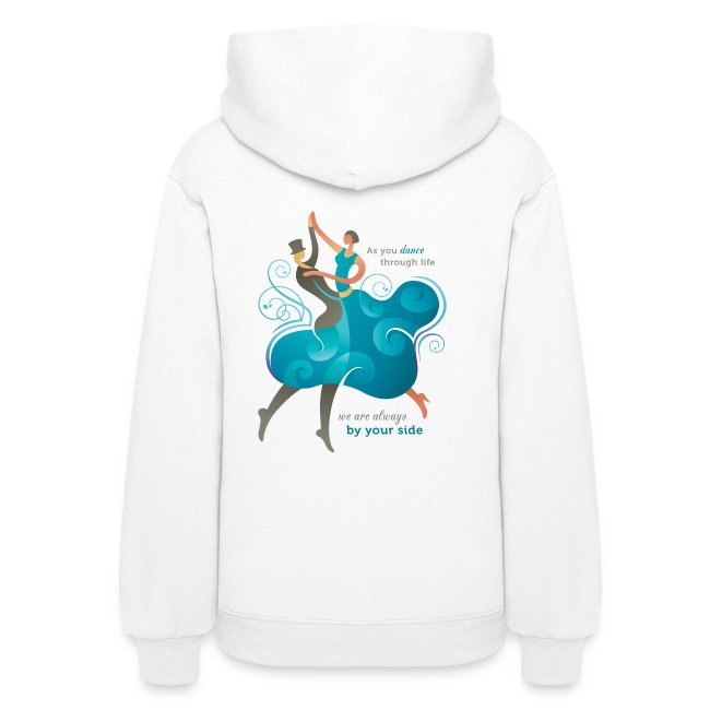 Women's Hoodie - Two Dancers