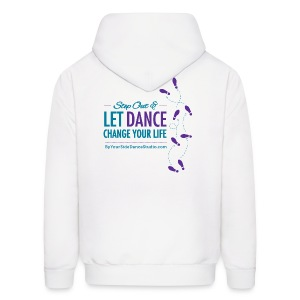 Men's Hoodie - Let Dance Change Your Life - Men's Hoodie