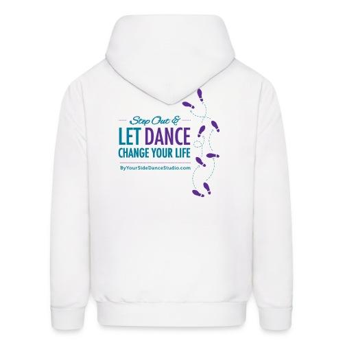 Men's Hoodie - Let Dance Change Your Life - Men's Hoodie