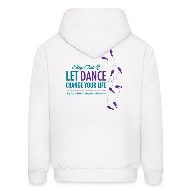 Men's Hoodie - Let Dance Change Your Life
