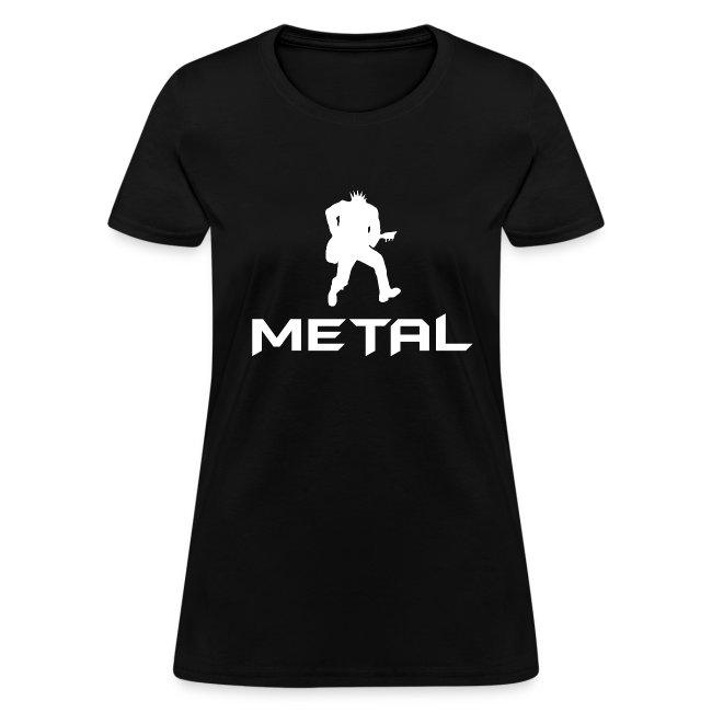 Metal T-Shirt (Women's)