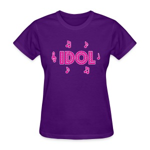 Team Idol (Women's) - Women's T-Shirt