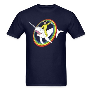 Narwhal Rainbow Heisenberg - Men's T-Shirt